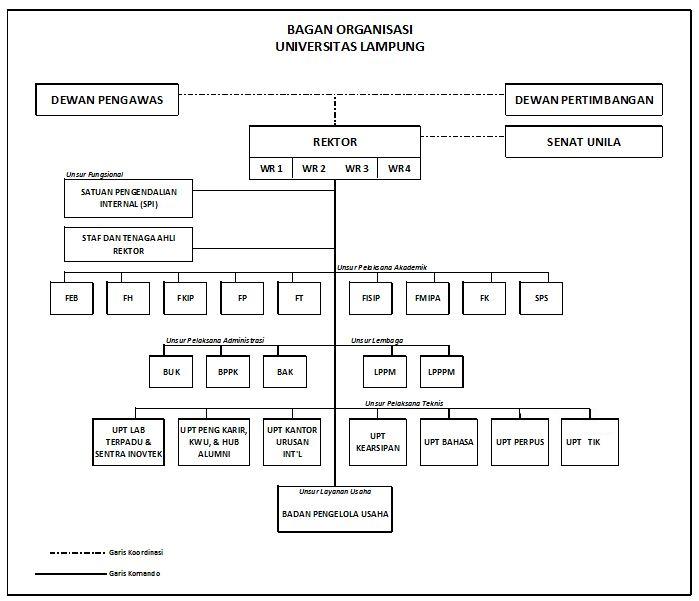 Struktur Unila