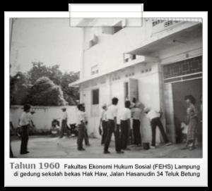 dedi-Universitas Lampung tahun 1960