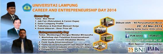 Unila Career and Entrepreneurship Day 2014