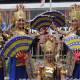 kembang melinting Lampung dance