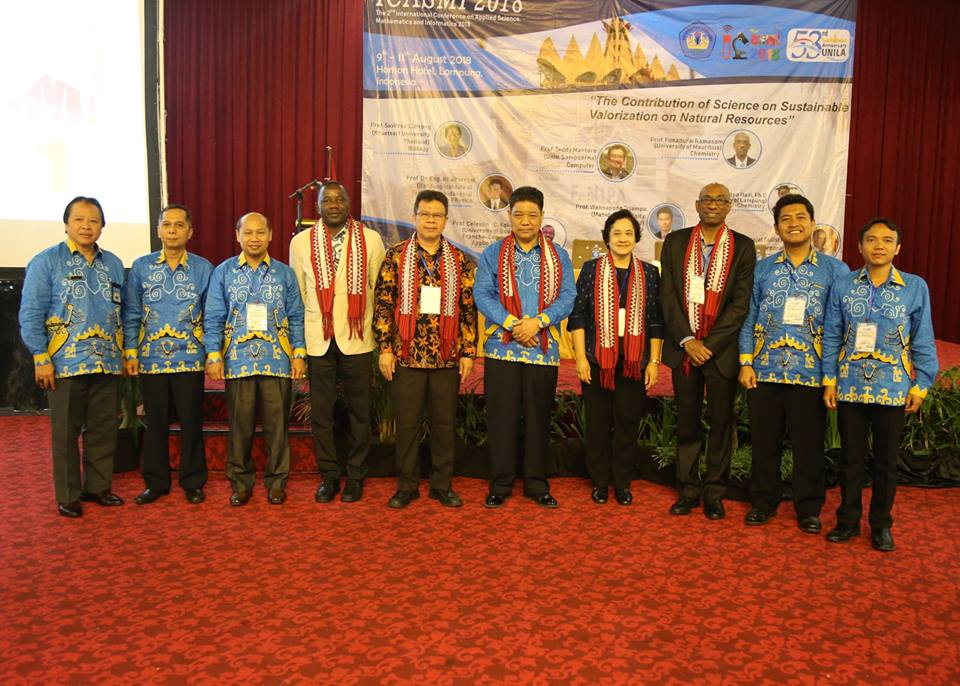 FMIPA Unila Held 2nd ICASMI