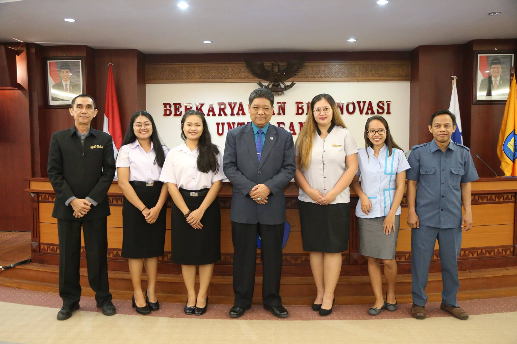 7 th year, Unila welcomed the delegation of SEA Teacher Program Batch 7