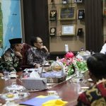 Rector Unila Meeting With Governor