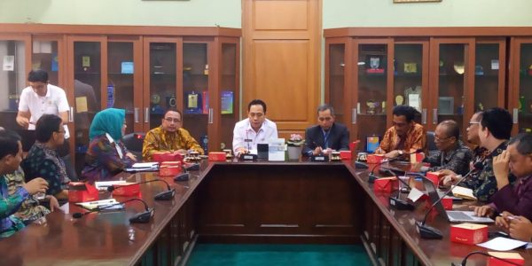 Untirta, The First Campus Visited by Rector Karomani