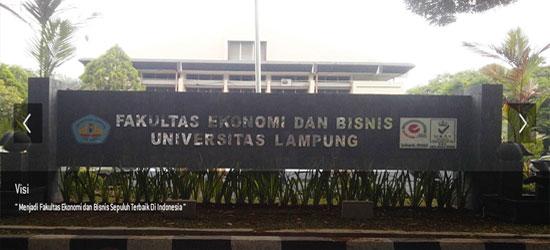 Fakultas Ekonomi Dan Bisnis Universitas Lampung