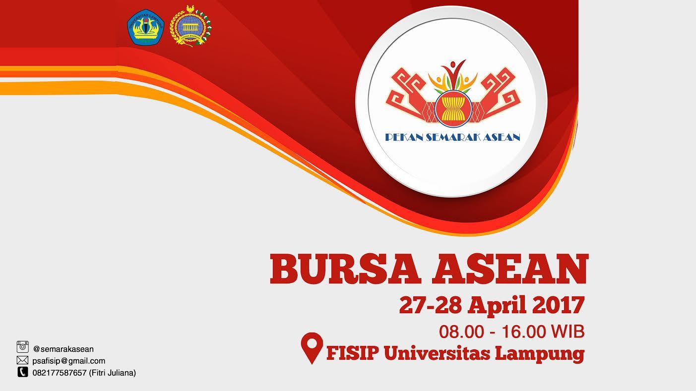 BURSA ASEAN 27-28 April