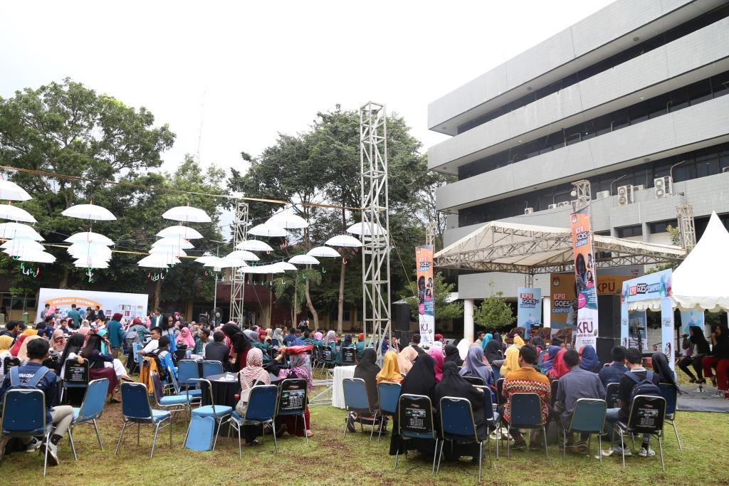 KPU Goes to Campus, Mahasiswa Dampingi Pemilih Difabel 3