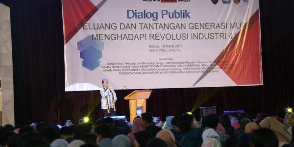 Dialog Publik Generasi Milenial (3)