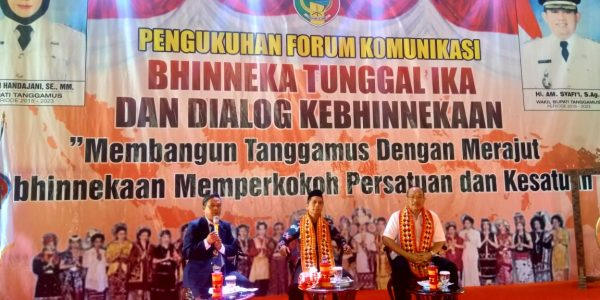 kegiatan bhinekaan tunggal ika di Islamic Center Tanggamus (6)