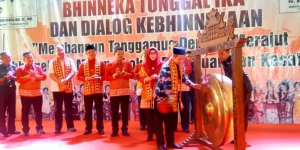 kegiatan bhinekaan tunggal ika di Islamic Center Tanggamus (9)