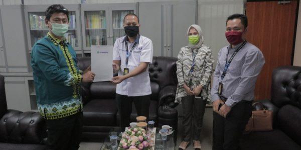 Audiensi Pimpinan Bukopin Cabang Lampung (2)